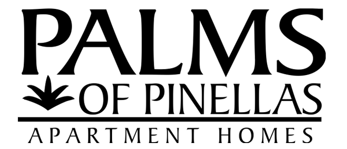 Palms of Pinellas Apts. Logo, Link to Home Page